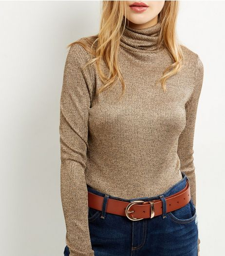 Tan Leather Belt | New Look
