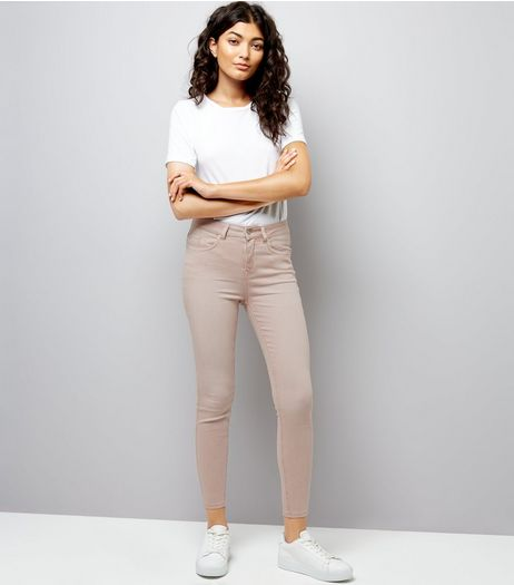 Shell Pink Skinny Jenna Jeans | New Look