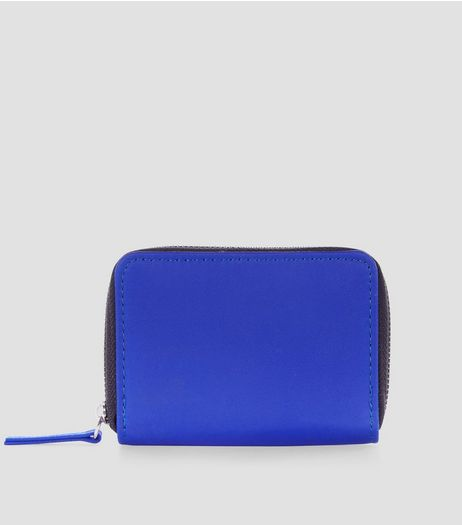 Bright Blue Card Holder | New Look