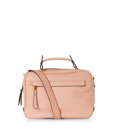 Light Pink Shoulder Luggage Bag | New Look