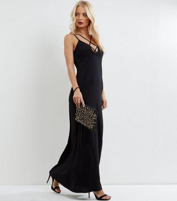 size 4 maxi dress embellished