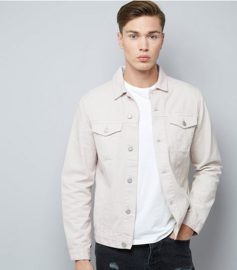 Off White Denim Jacket | New Look