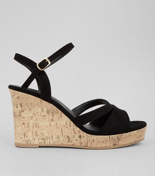 Ladies wedge sandals new look