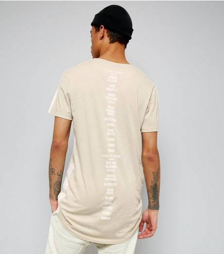 Stone Tour Print Longline T-Shirt | New Look