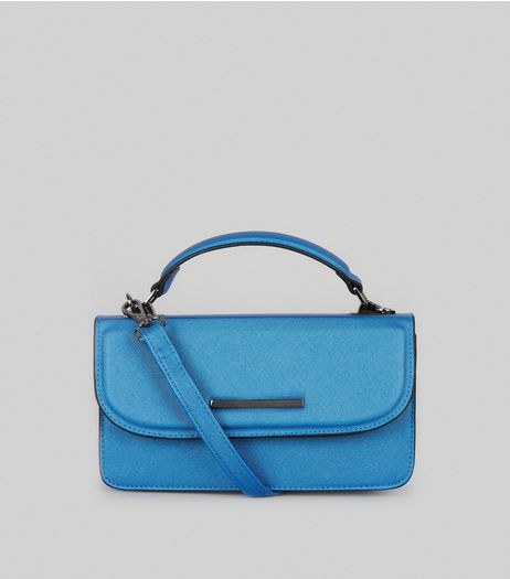 Blue Cross Body Bag  | New Look