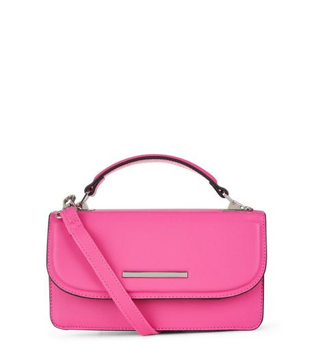 Bright Pink Cross Body Bag | New Look