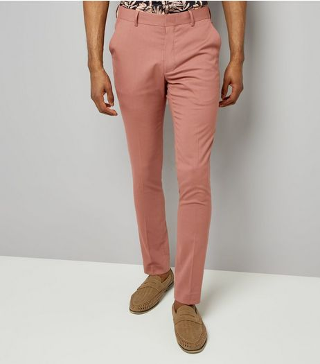 Deep Pink Suit Trousers | New Look