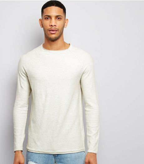 Stone Raw Hem Jumper | New Look