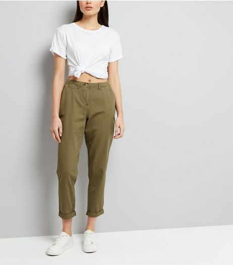 Khaki Chinos | New Look
