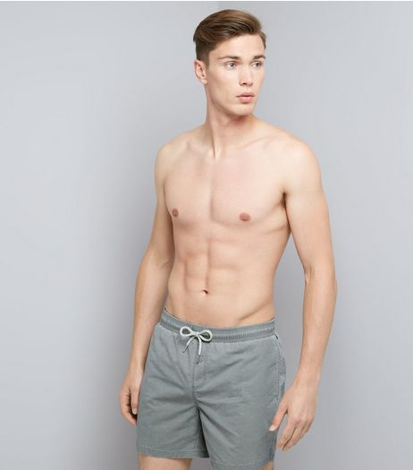 Grey Swim Shorts | New Look