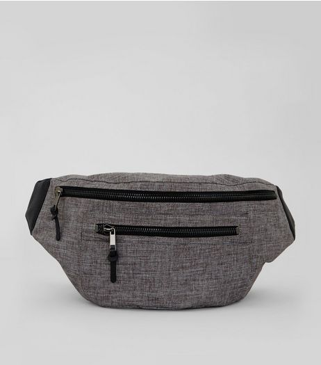 Grey Double Look Cross Body Bag | New Look