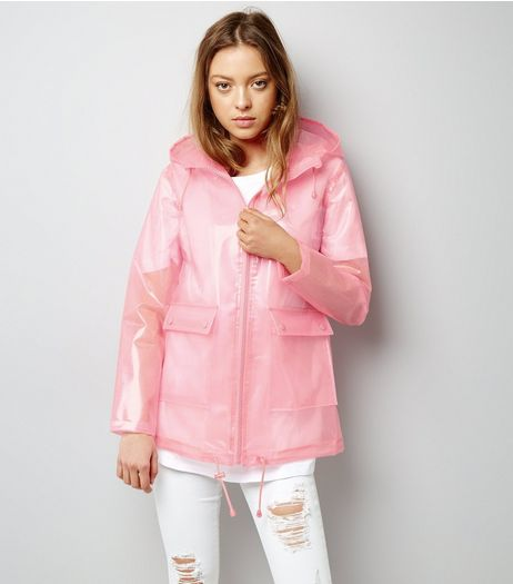 Pink Glitter Anorak | New Look