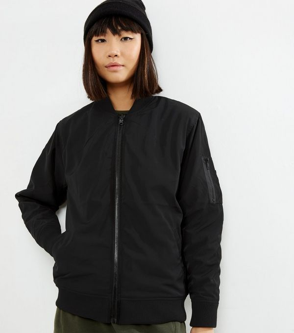 Bomber Jackets | Black Green &amp Khaki Bombers | New Look