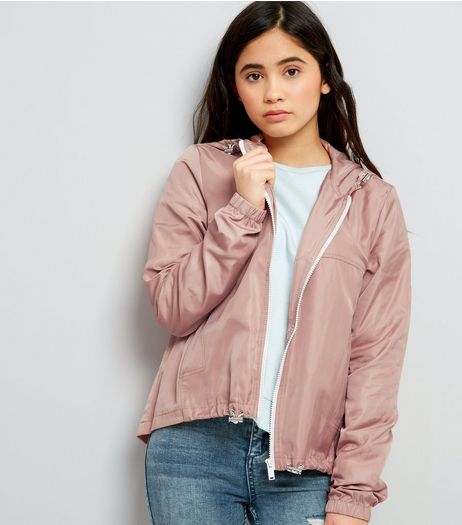 Teens Pink Sports Jacket | New Look