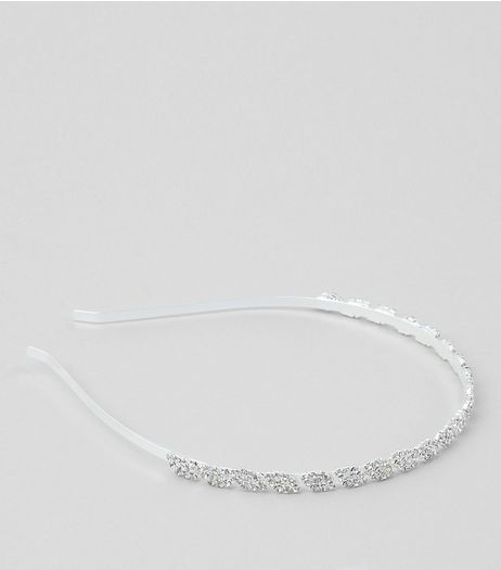 Crystal Leaf Headband | New Look