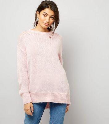 Pink Longline Jumper