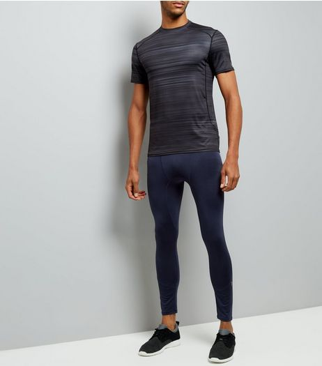 Navy Running Tights | New Look
