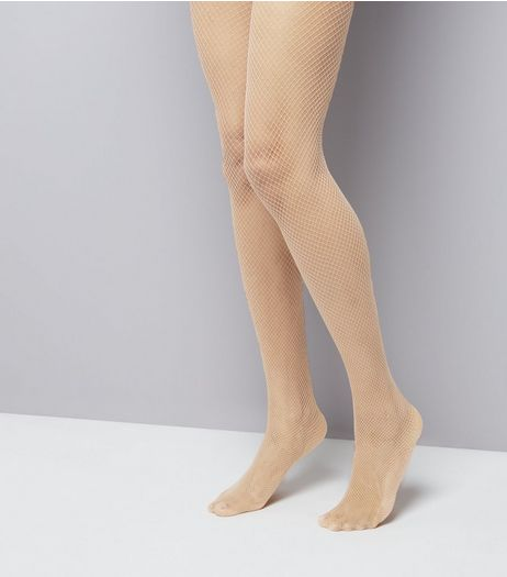 Nude Fishnet Tights | New Look