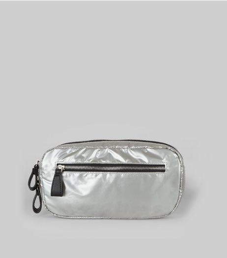 Silver Bumbag | New Look