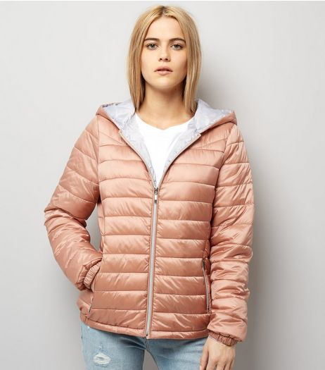 Pink Lightweight Puffer Jacket | New Look