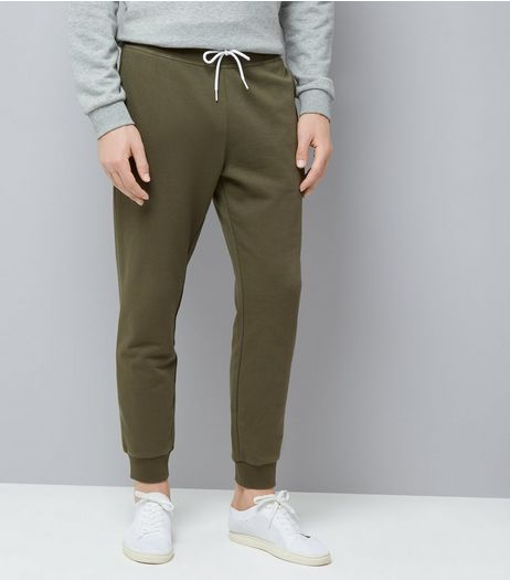 Khaki Joggers | New Look