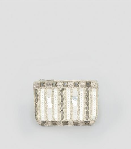 Gold Embellished Coin Purse | New Look