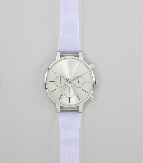 Crystal Mini Dials Sport Watch  | New Look