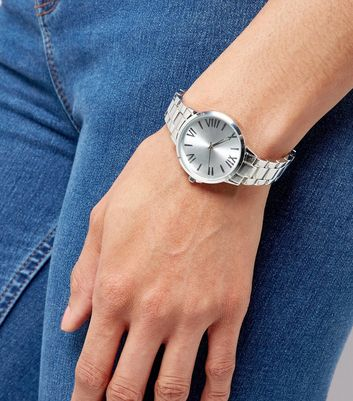 Product photo of Silver sports watch