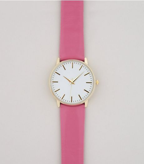 Bright Pink Watch  | New Look