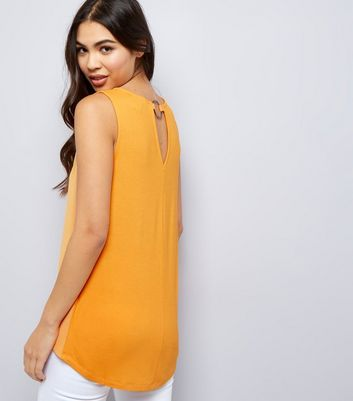 Orange Ring Back Vest