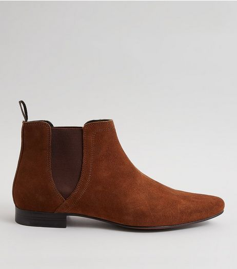 Tan Suede Chelsea Boots | New Look