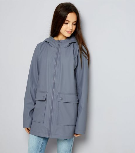 Teens Grey Matte Anorak | New Look