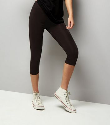 Black 3/4 Leggings