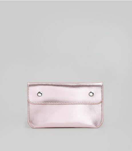 Pink Double Pouch Purse Belt | New Look