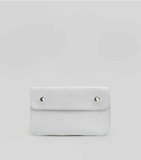 Silver Double Pouch Purse Belt | New Look