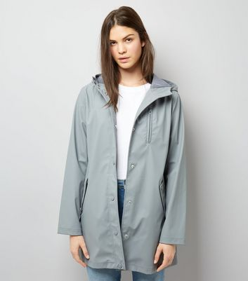 Grey Matte Anorak