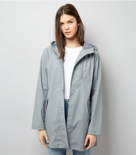 Grey Matte Anorak | New Look