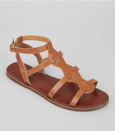 Tan Gladiator Sandals | New Look