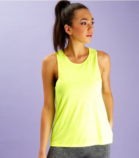 Neon Green Sports Vest | New Look