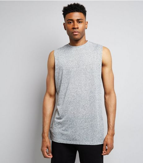 Grey Tank Top  | New Look