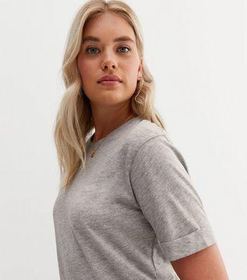 Tall Grey Oversized T-Shirt