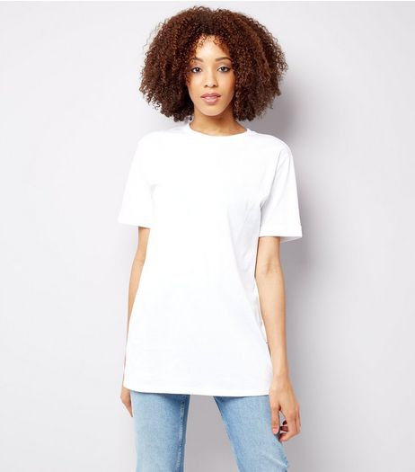 Tall White Oversized T-Shirt | New Look