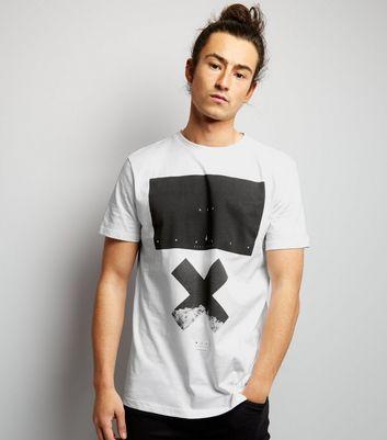 White NYC X Printed T-Shirt