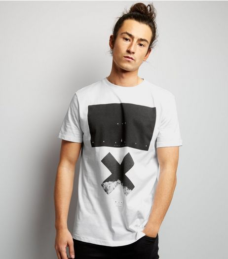 White NYC X Printed T-Shirt | New Look