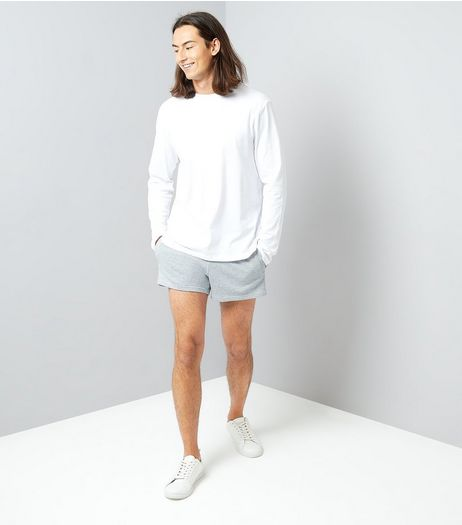 Grey Runner Shorts | New Look