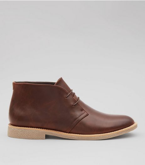 Brown Desert Boots | New Look