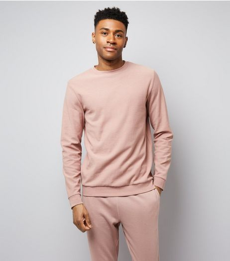 Deep Pink Crew Neck Sweater | New Look