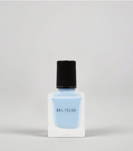 Cloud Grey Nail Polish | New Look