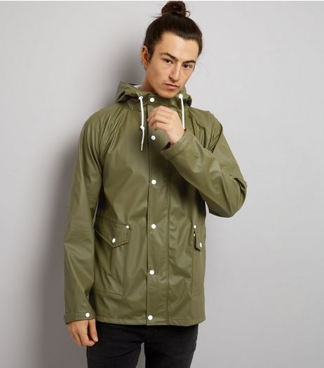 Khaki Hooded Anorak | New Look
