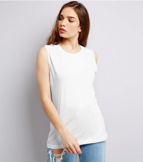 White Tank Top | New Look
